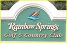 Rainbow Springs Golf, Pine Ridge Golf, Southern Woods Golf signs
